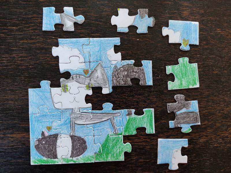 Vlastní puzzle? Jednoduše :-)